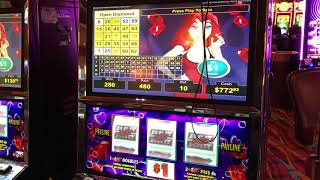 VGT Slots Mr. Money Bags $10 Max - Winning Red Spins Red Screen Without A Cherry. Hot Dog Bingo