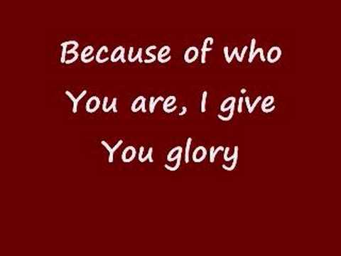 "Worship Video of ""Because of Who You Are"" by Vicki Yohe [Lyrics]"