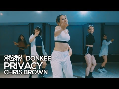 Chris Brown - Privacy (Live sound) : Donkee Choreography