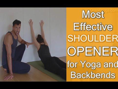 Most Effective Shoulder Opener for Yoga and Backbends