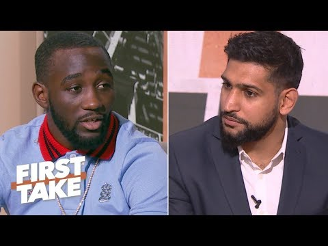 Terence Crawford: Beating Amir Khan would make me the best pound-for-pound boxer   First Take