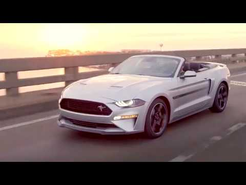 Ford Mustang California Special video debut