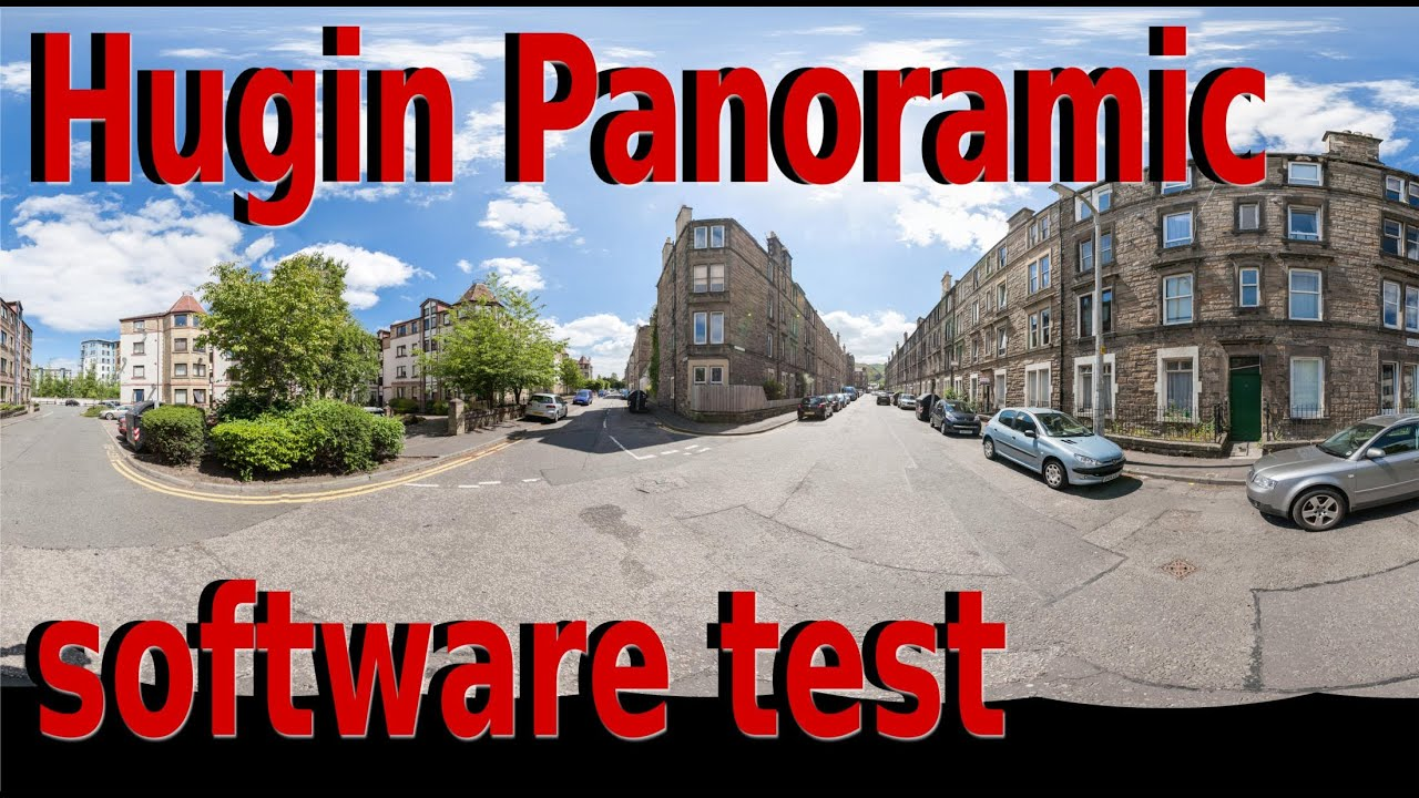 Hugin panorama Software test