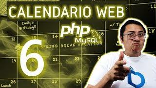 Calendario web con PHP y MySQL utilizando fullcalendar (Video 6 - colores de eventos)