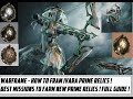 Warframe - How To Farm Ivara Prime ! Best Missions To Farm New Prime Access Relics !