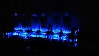 Sven Reloaded Nixie Clock With In-8-2 Tubes.