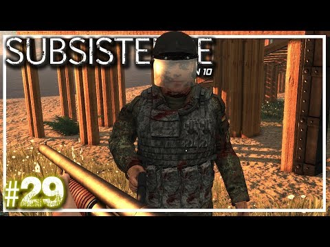 Subsistence   Build Or Die   Subsistence Let's Play Stream S10 EP29
