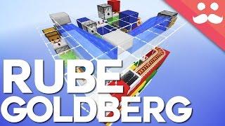 Minecraft: The TINY Rube Goldberg Machine!