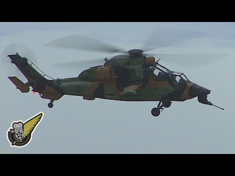 Australian Attack Helicopters - Two Eurocopter Tigers
