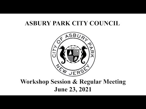 Asbury Park City Council Meeting - June 23, 2021