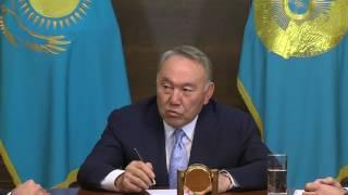 Нурсултан Назарбаев встретился с Аканом Сатаевым