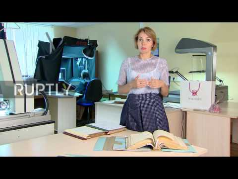 Russia: SS Chief, Heinrich Himmler's diary put on display in Moscow