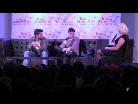 Big Brother 16 Cody & Zach at iplay event in NJ 11/28/14 part 1