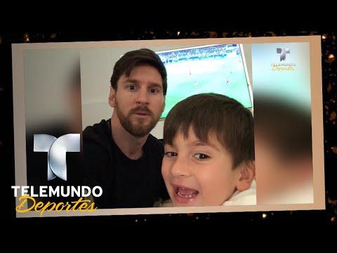 Si nace un hijo de Messi… ¡Barça no gana en Champions! | UEFA Champions League | Telemundo Deportes