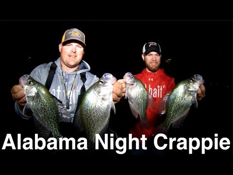 Epic Night Crappie Fishing In Alabama