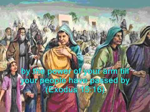 #1207- Song Of Moses And Miriam - (Exodus 15:1-18)