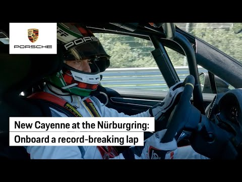 Nürburgring Lap Record: Onboard the Cayenne