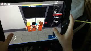 Roblox game play (on IPad)