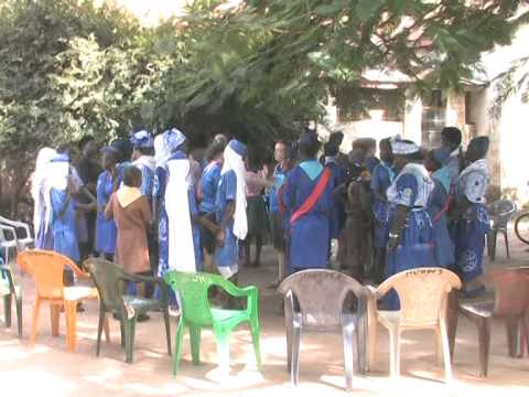 GAMBIA GIRL GUIDES GOLD PROJECT 2014 BRIKAMA CONTINUED PART 04