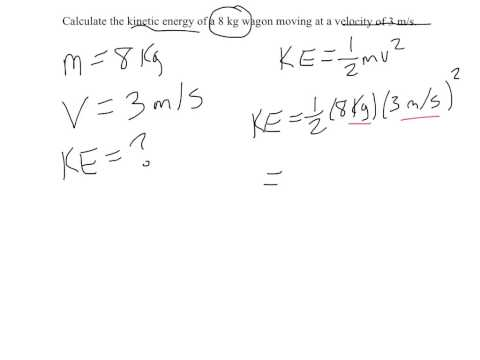 Calculating Kinetic and Potential Energy