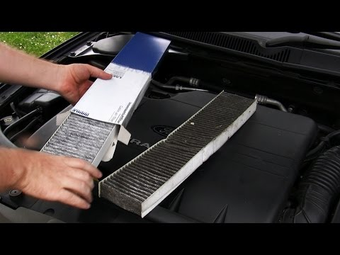 Simple how-to: Replace cabin air filter, Mondeo Mk3 & Jaguar X-Type
