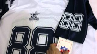 Dallas Cowboys #88 Dez Bryant Mitchell and Ness white Jersey