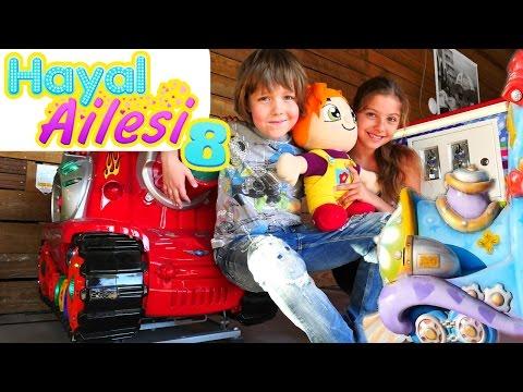 Hayal Ailesi 8. FunTown Lunapark oyunları