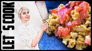 ✿ LET`S COOK ✿ Яичница-болтунья / scrambled eggs на водяной бане ♥