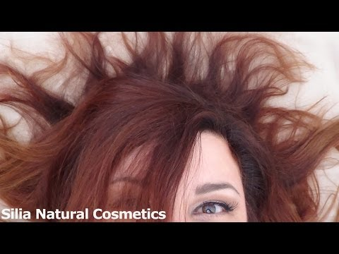 Henna hair dye (dye your hair without chemicals)