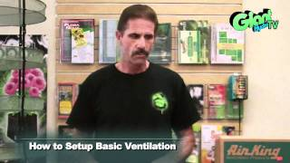 How to setup a basic ventilation system for your indoor grow room