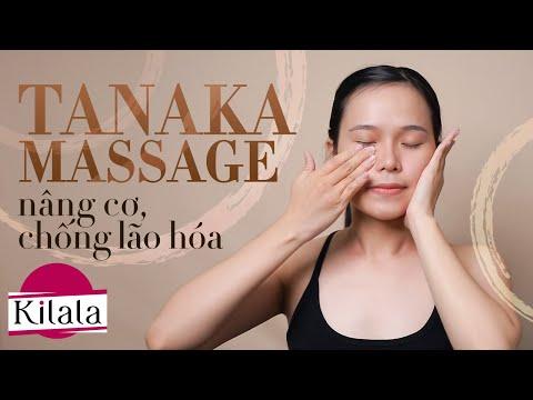 THON GỌN MẶT, GIẢM NỌNG CẰM, CHỐNG LÃO HÓA - Tanaka Face Massage | Làm Đẹp Chuẩn Nhật