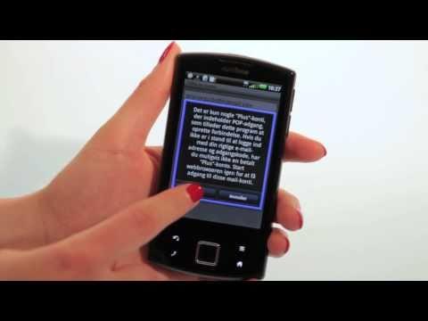 Garmin-Asus nüvifone A50 - opsætning til e-mail