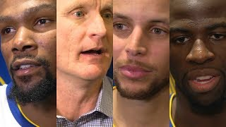 Warriors react to loss to Celtics [Kevin Durant, Steve Kerr, Steph Curry, Draymond Green] | ESPN