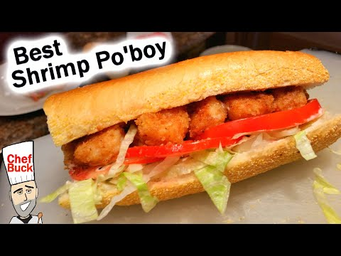 Best Shrimp Po'boy Fried Shrimp Recipe