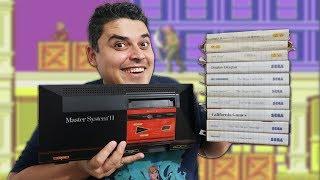 Lote Delícia de Master System II + 10 Jogos - Foi Bom Negócio?