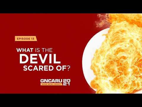 """""""What is the Devil Scared Of?"""" 