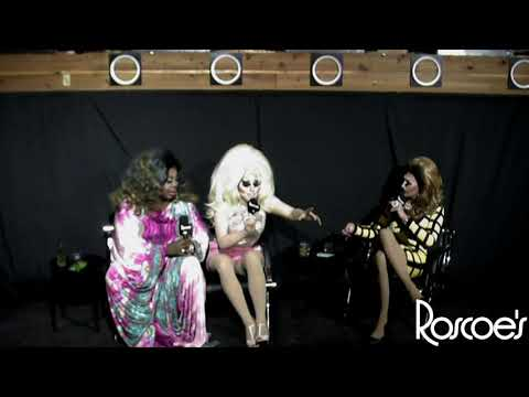 Roscoe's RPDR AS4 Viewing Party with T Rex, Trixie Mattel, and Latrice Royale!