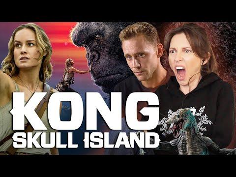 KONG SKULL ISLAND First Time Watching (KONG VS SAM JACKSON!) - Kazzy Reacts