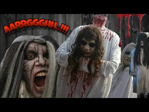 Setan Hantu Bundaran HI Seram Tapi Lucu || Drama Anak Horor - IH SERAM!