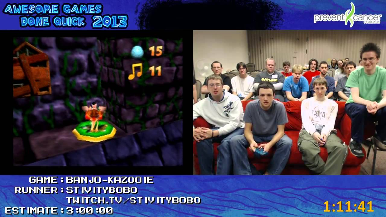 Banjo Kazooie Speed Run 100 In 2 34 56 By Stivitybobo