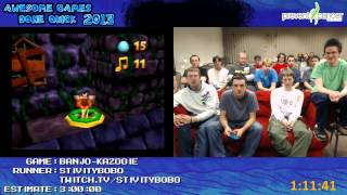 Banjo Kazooie - Speed Run 100% In 2:34:56 By Stivitybobo Awesome Games Done Quick 2013 N64