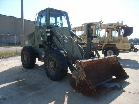 how to operate a front end loader youtube