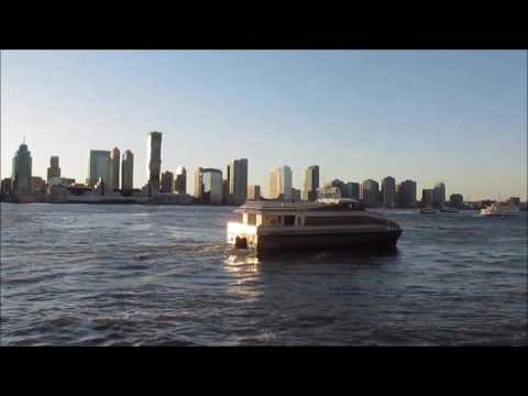 New York city: From Battery park to World trade Center