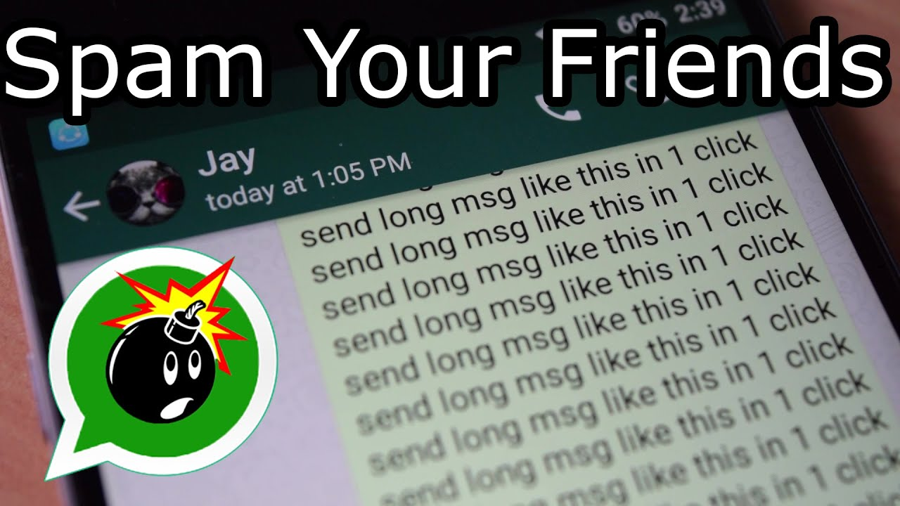 Send 600 WhatsApp msgs in 1 Click | No root