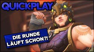 Die Runde läuft schon?! • Overwatch Quickplay