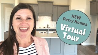 VIRTUAL TOUR of Two NEW Perry Homes | Jen Gowens, Your Realtor