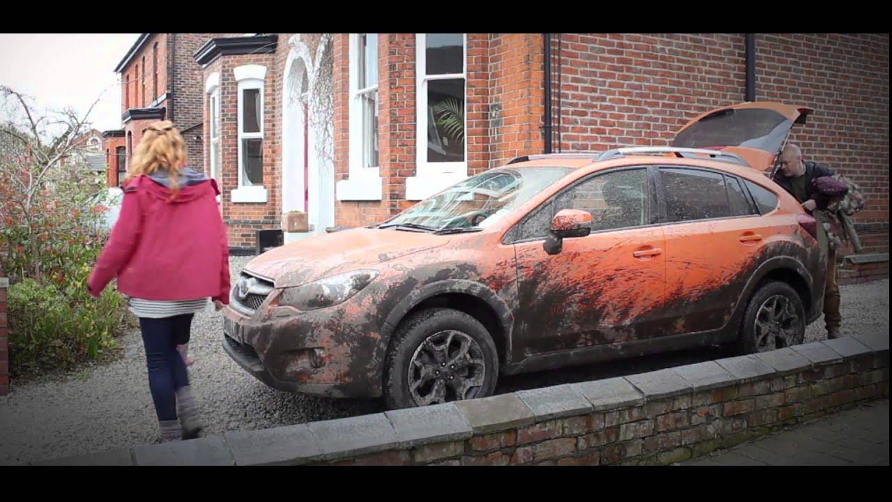 April Fools Subaru Self Cleaning Car Youtube