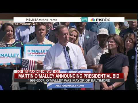 Martin O'Malley kicks off presidential campaign in Baltimore