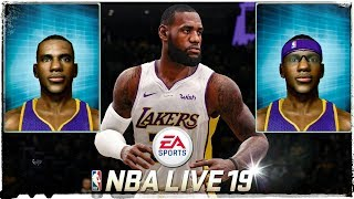 Editing Player Heads in NBA Live 19? Offline Street Ball Modes Also? NBA Live 06 4K Gameplay!