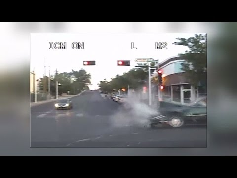 Dash camera video shows high-speed chase across Albuquerque